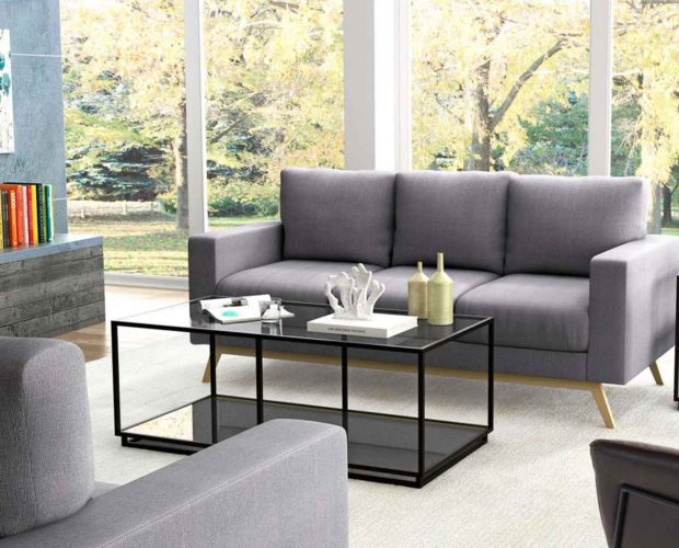 Modern Living Room - Sofa Table Accent chair